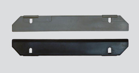 Blade for tubular heat exchanger